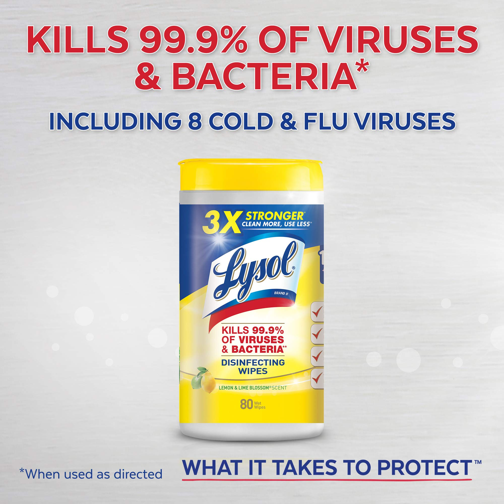Lysol Disinfecting Wipes, Early Morning Breeze, 480 Wipes (6 Packs of 80 Wipes), Packaging May Vary by Lysol (Image #3)
