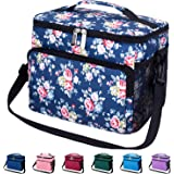 Leakproof Reusable Insulated Durable Cooler Lunch Bag - Office Work School Picnic Beach Lunch Box with Adjustable…