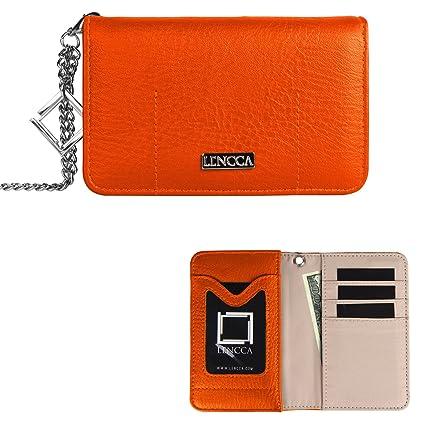 Amazon.com: Moda teléfono celular bolsa de embrague bolso ...