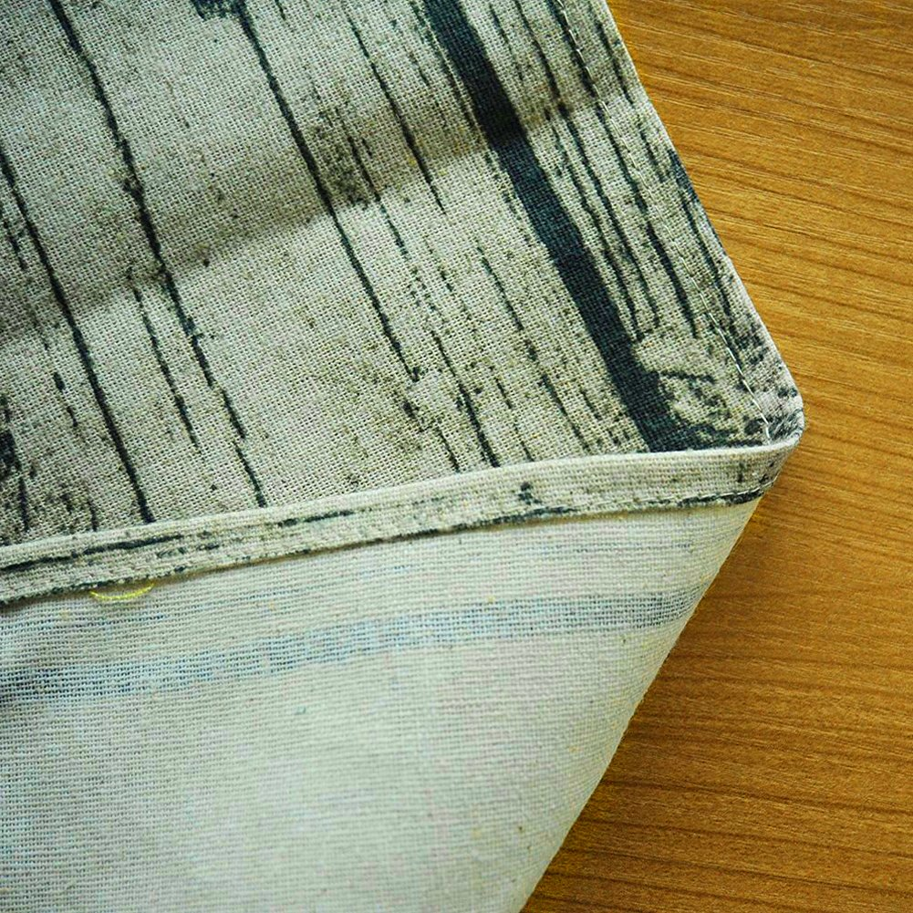 Table Cloth-Cotton Linen SpillProof Dustproof Antistatic Fitted Rectangle Tablecloth Cover for Dinner Kitchen,Christmas Dinner, Wedding, Parties (Square 50\