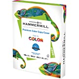 """Hammermill Cardstock, Premium Color Copy, 32 lb, 11"""" x 17""""-1 Pack (500 Sheets) - 100 Bright, Made in the USA Card Stock, 1200"""