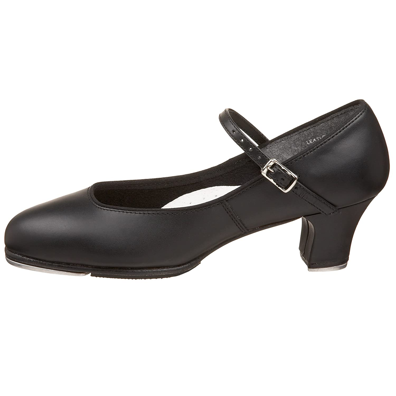 Capezio Women's Tap Jr. Footlight Tap US|Black Shoe B001CJBPSY 9 W US|Black Tap 40215a