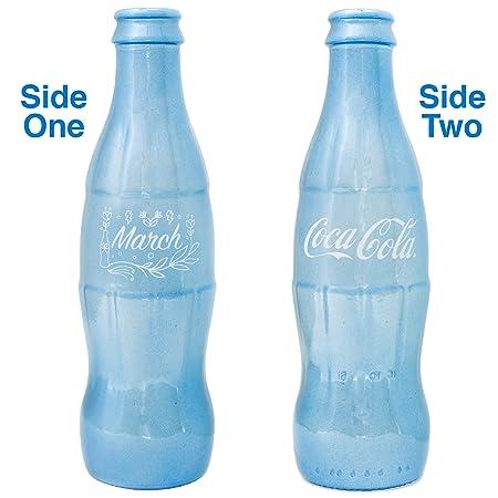 Coca-Cola Birthstone - Botella de Coca Decorativa, diseño de Marzo ...