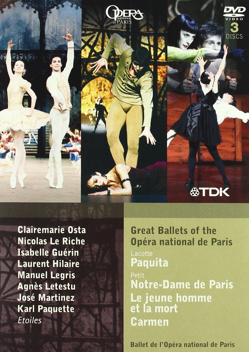 Great Ballets of the Opera National De Paris [DVD] [Import] B0040Y7F9G