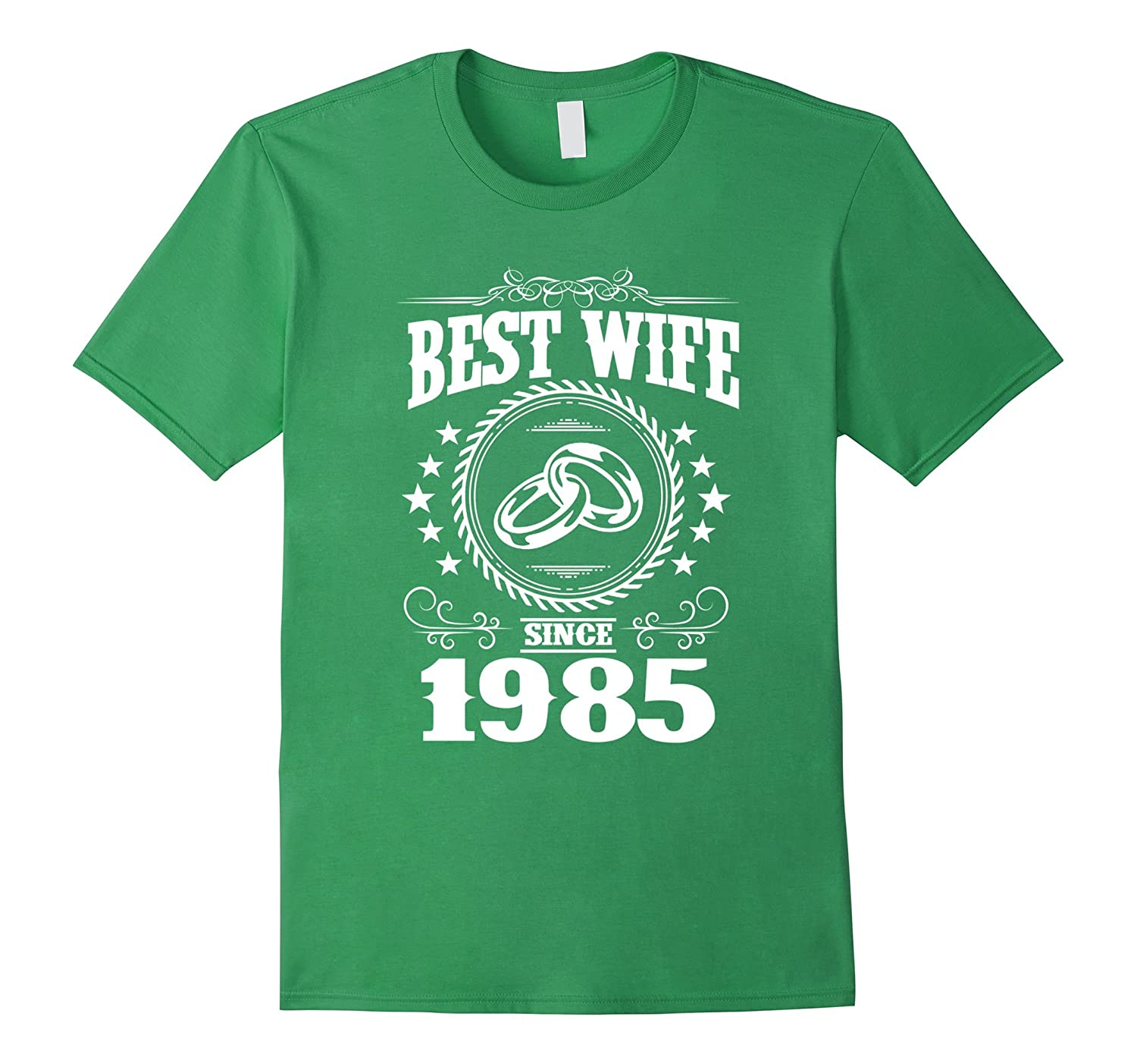 32 Wedding Anniversary Gifts: 32nd Wedding Anniversary T-Shirts For Wife From Husband-PL