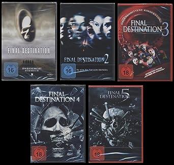 Final Destination 12345 Dvd Uncut Fsk 18 Edtion Set Amazonde