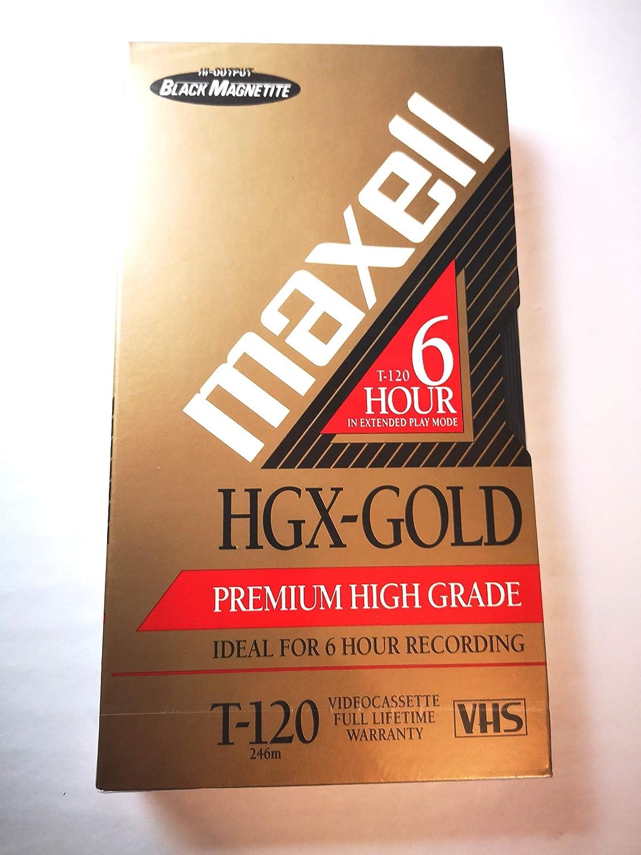 HGX-Gold Premium High Grade Videocassette