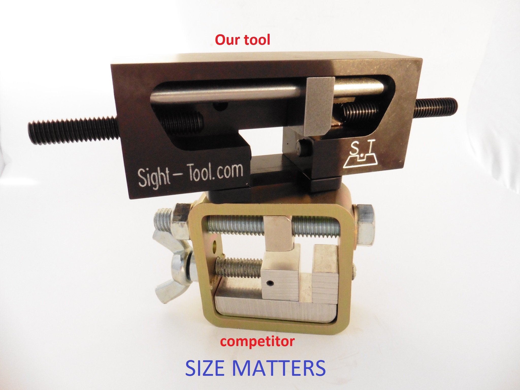 Universal Handgun Sight Pusher Tool for 1911 Sig springfield and others* Best tool on the market for front or rear sights* MADE IN USA by sight-tool.com (Image #6)