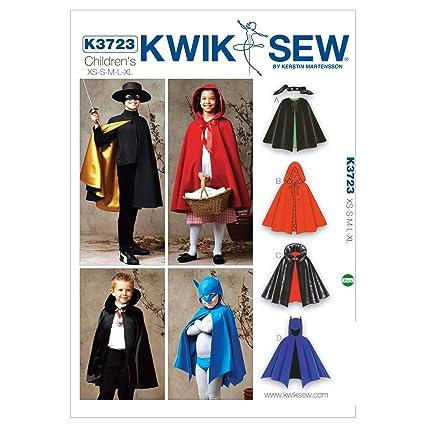 Amazon Kwik Sew K3723 Capes Sewing Pattern Size Xs S M L Xl