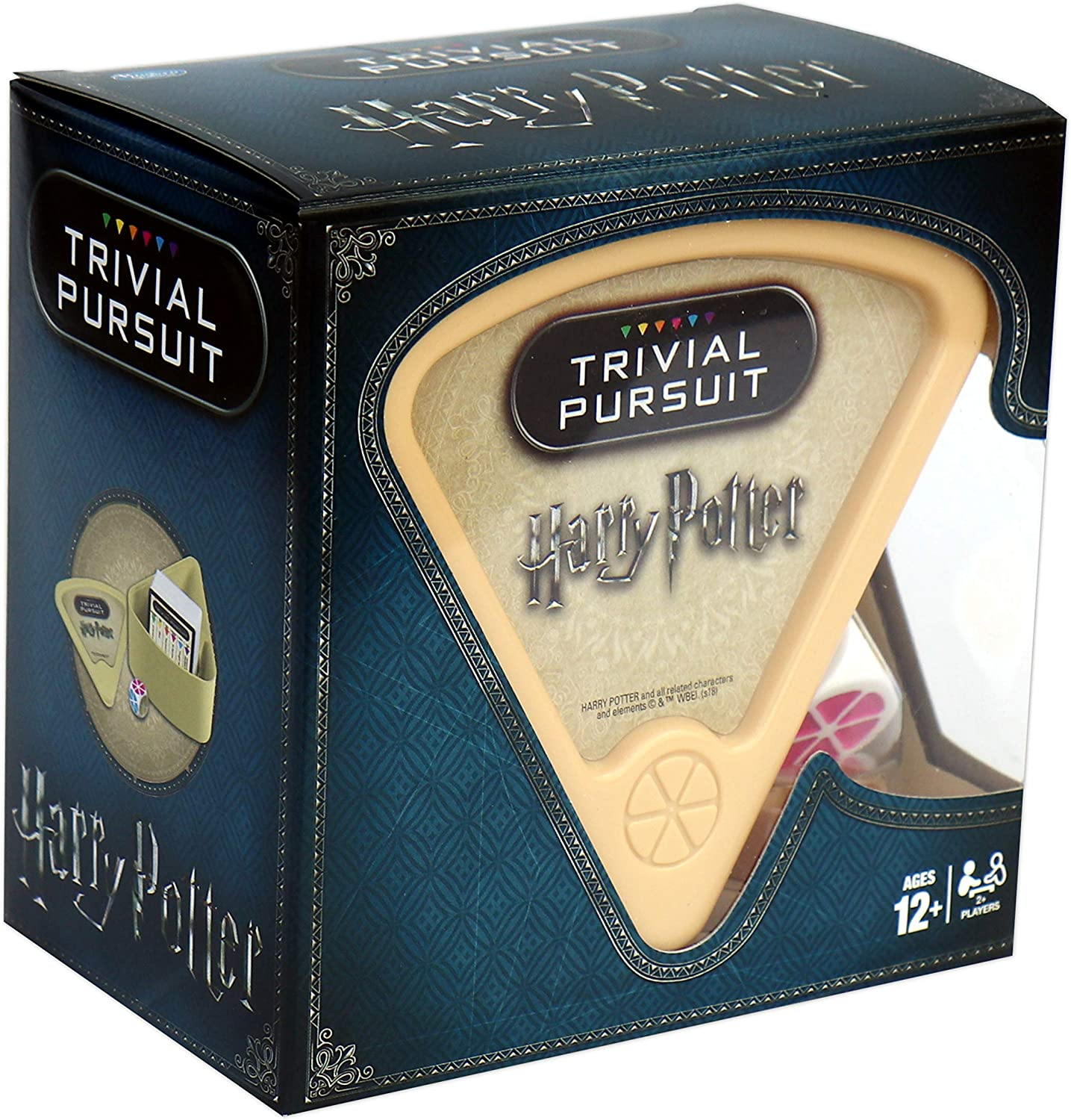Winning Moves 29612 Juego Harry Potter Trivial Pursuit, Negro