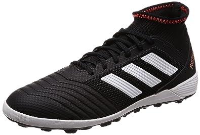 3fab1dcb6990 Adidas Men s Predator Tango 18.3 Tf Cblack Ftwwht Solred Football Boots - 6  UK