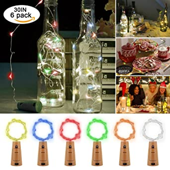 LED Botella corcho luces – Pierna Home LED Botella de vino Cork ...
