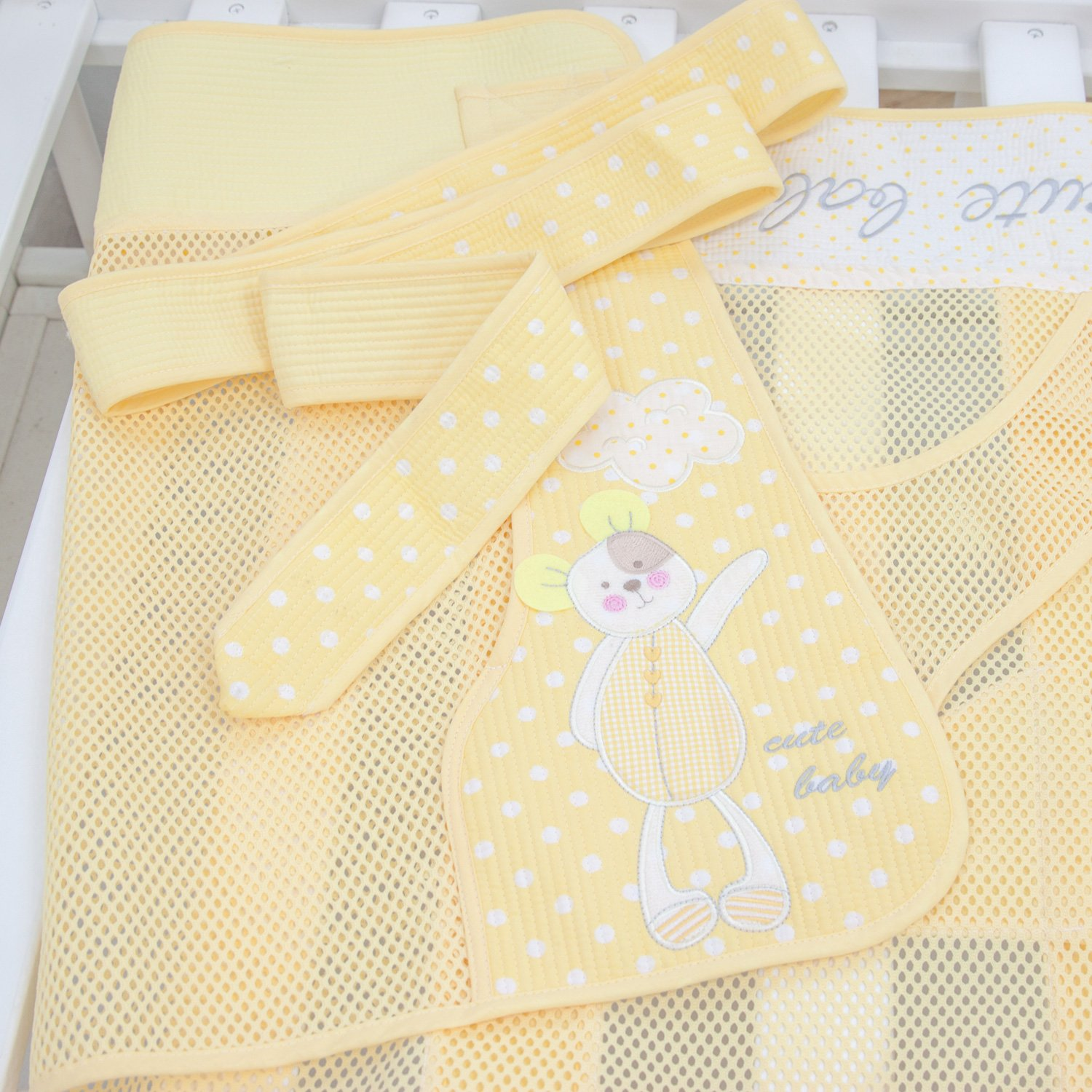 618c4169fc7 Amazon.com   Lulu Mesh Podaegi Asian Style Baby Carrier Baby Sling Toddler  Yellow   Baby