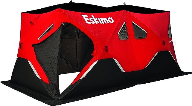 Eskimo FatFish Series Pop-Up Portable Ice Fishing Shelter