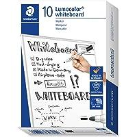 STAEDTLER 351-9 LumoColour Whiteboard Marker, Black