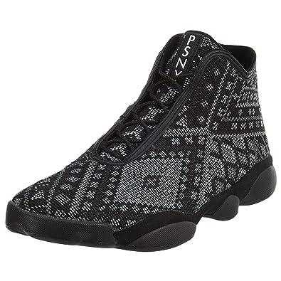 b87d2b3f8c5 Nike Mens Jordan Horizon Premium PSNY Public School Black/White-Pure  Platinum Fabric Size