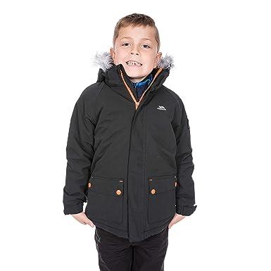 1083a16f29e1 Amazon.com  Trespass HOLSEY Boys Waterproof Windproof Parka Jacket ...