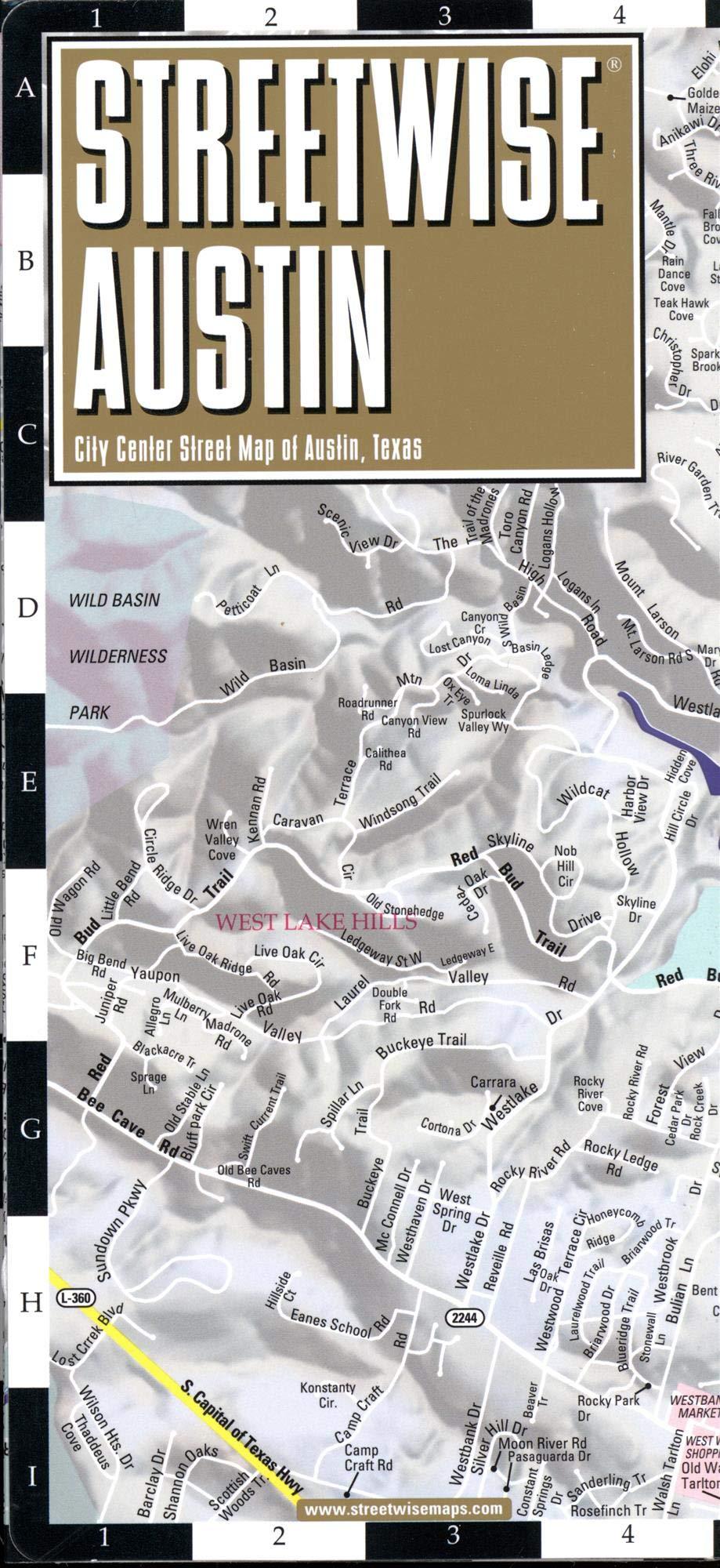 Streetwise Austin Map: Laminated City Center Map of Austin ... on city of ada ok map, city of bowling green ky map, city of santa fe nm map, city of harahan la map, city of los angeles ca map, city of stuart fl map, city of concord nc map, city of grand forks nd map, city of long beach ca map, city of manchester nh map, city of bismarck nd map, city of green bay wi map, city of caldwell id map, city of apache junction az map, city of ann arbor mi map, city of darien ct map, city of battle creek mi map, city of dubois pa map, city street maps austin texas, city of sault ste marie mi map,
