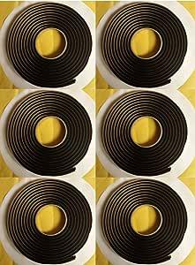 """QTY 1 Butyl Tape 3M 1//4/""""x15ft Autoglass Sunroof Putty Ribbon Adhesive"""