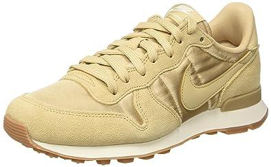 Nike Damen Wmns Internationalist Low-Top, Beige (Linen/Linen/Sail), 40 EU