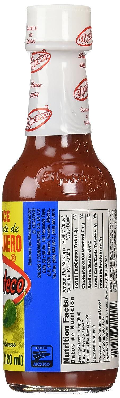 El Yucateco Red Salsa Picante de Chile Habanero Hot Sauce - 4 oz: Amazon.es: Alimentación y bebidas