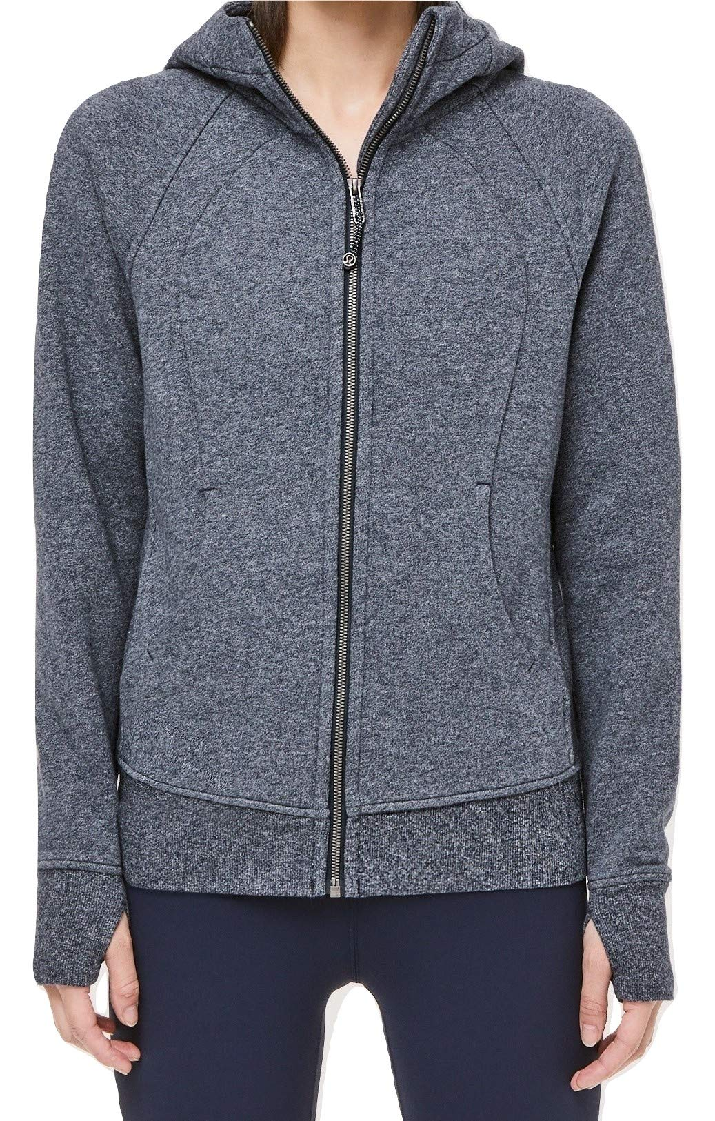 Lululemon Scuba Hoodie (Heathered Speckled True Navy, 2)