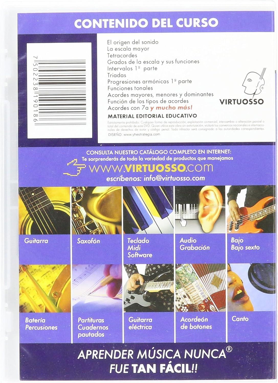 virtuosso armonía método para teclado musical Vol. 1 (curso de ...