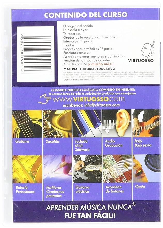 Amazon.com: Virtuosso Harmony Method for Musical Keyboard Vol.1 (Curso De Armonía En Teclado Vol.1) SPANISH ONLY: Musical Instruments