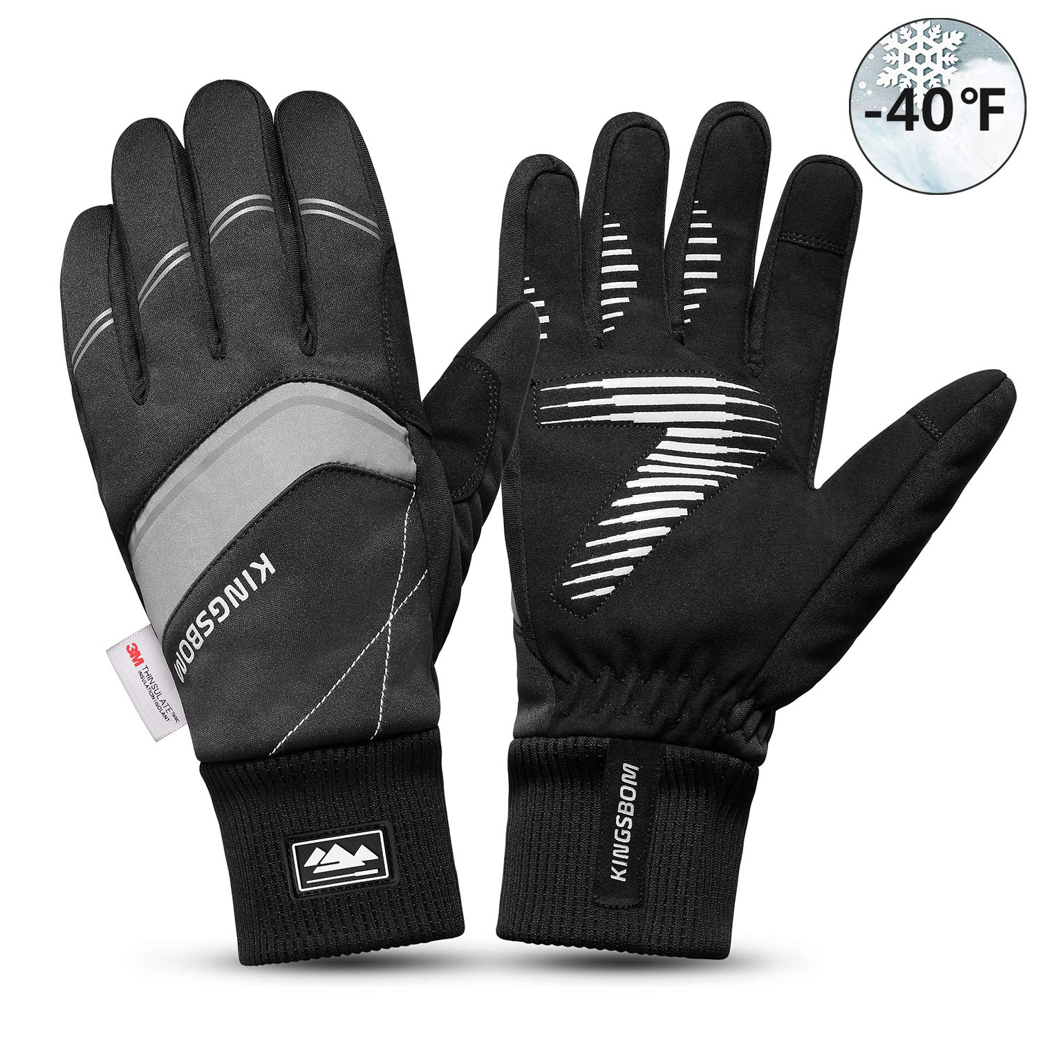 Waterproof Touch Screen Thermal Driving Gloves Bike Motorcycle Cycling Riding