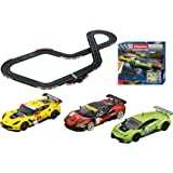 Carrera 30191 Digital 132 Pure Speed Slot Car Racing Set - Includes Over 26' of Race Track, 3 VEHICLES, 3 Controllers (1: 32 Scale)