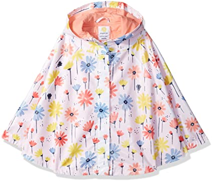 Amazon Gymboree Baby Girls' Toddler Floral Print Rain Cape Interesting Toddler Cape Pattern