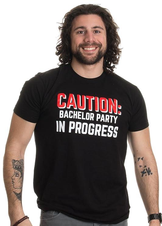 526bd234e460a5 Amazon.com  Caution  Bachelor Party in Progress