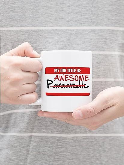 Amazon Funny Emt Paramedic Novelty 11 Oz Gift Mug My Job