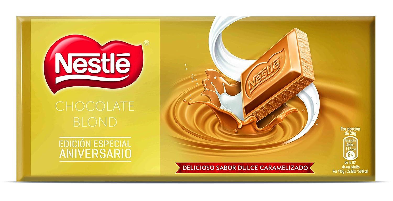 Nestlé Blond Chocolate Blanco - 120 gr: Amazon.es: Alimentación y bebidas