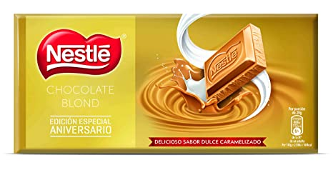 Nestlé Blond Chocolate Blanco - 120 gr