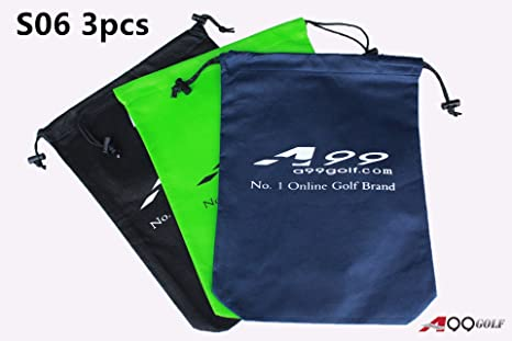 394dfb146067 Amazon.com : A99 Golf S06 Shoes Bag Nonwoven Fabric Tote Bag/pouch ...