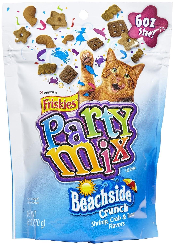 Friskies Party Mix Shrimp, Crab & Tuna Beachside Crunch 2.1oz