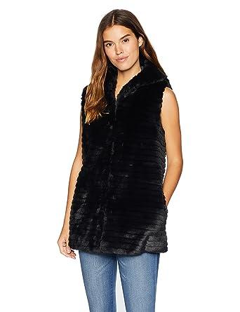 f0c164973bba Nanette Lepore Women s Vegan Faux-Fur Coat  Amazon.co.uk  Clothing