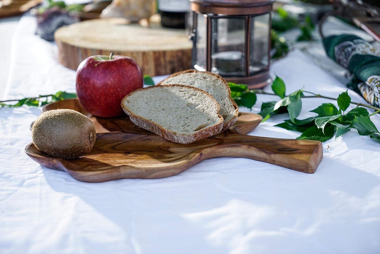 Windalf Celtic Deko Teakholzschale Tree of Life 30 cm Antipasti Holzschale Vorraum Schl/üssel Seifen Snack Schale Handarbeit aus Holz