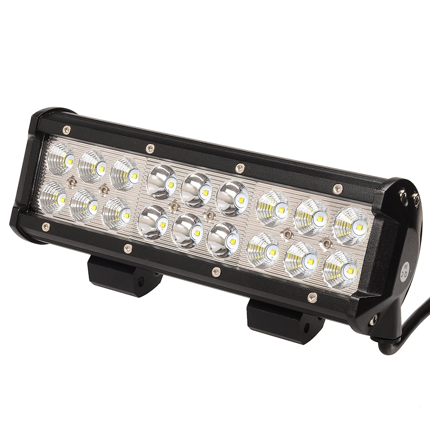 81xUiCulL0L._SL1500_ amazon com kawell led light bar 9 inch 54w 6000k spot flood combo  at pacquiaovsvargaslive.co