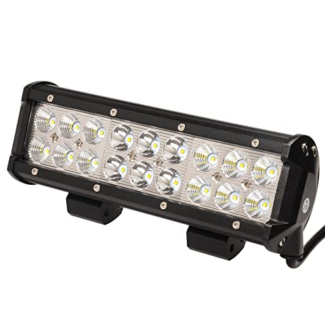 Amazon kawell led light bar 9 inch 54w 6000k spot flood combo kawell led light bar 9 inch 54w 6000k spot flood combo led light offroad driving fog mozeypictures Choice Image