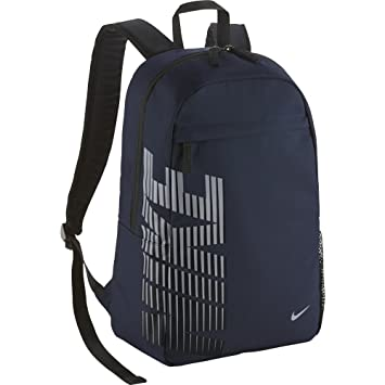 Nike Classic Sand Mochila, Unisex, Azul Marino/Gris/Negro, Talla Única: Amazon.es: Deportes y aire libre