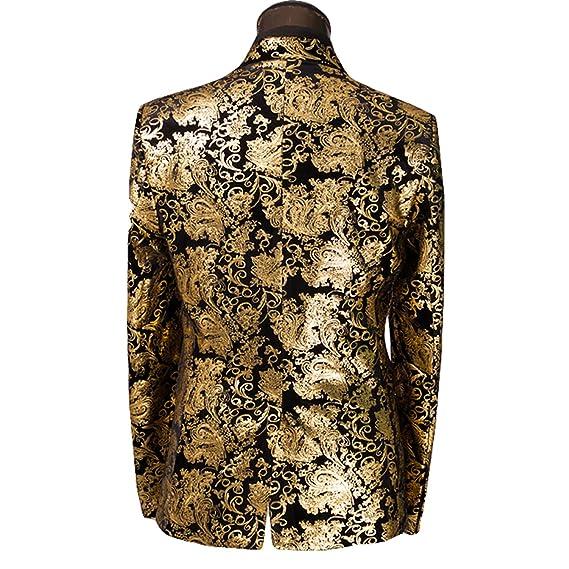 Susan1999 2018 Luxury Men Tuxedo Blazer Slim Fit Suit Jackets Wedding Party Shows at Amazon Mens Clothing store:
