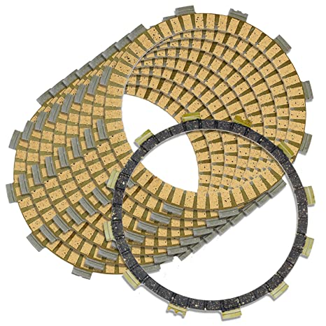 Amazon.com: Caltric CLUTCH FRICTION PLATES Fits YAMAHA R1 YZFR1 YZF-R1 LE SP 2004-2008: Automotive