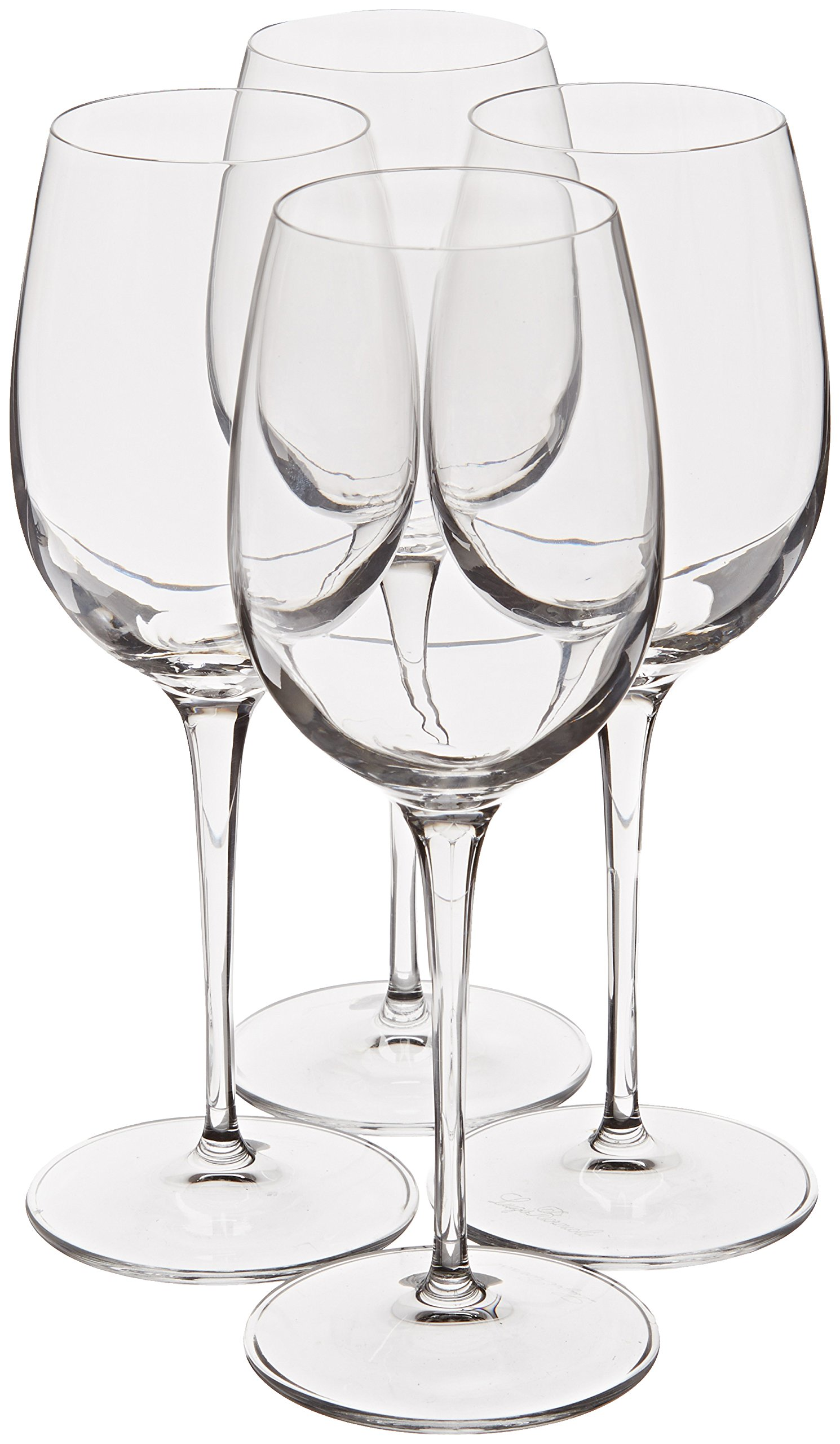 Luigi Bormioli Crescendo 13-Ounce Chardonnay Wine Glasses, Set of 4