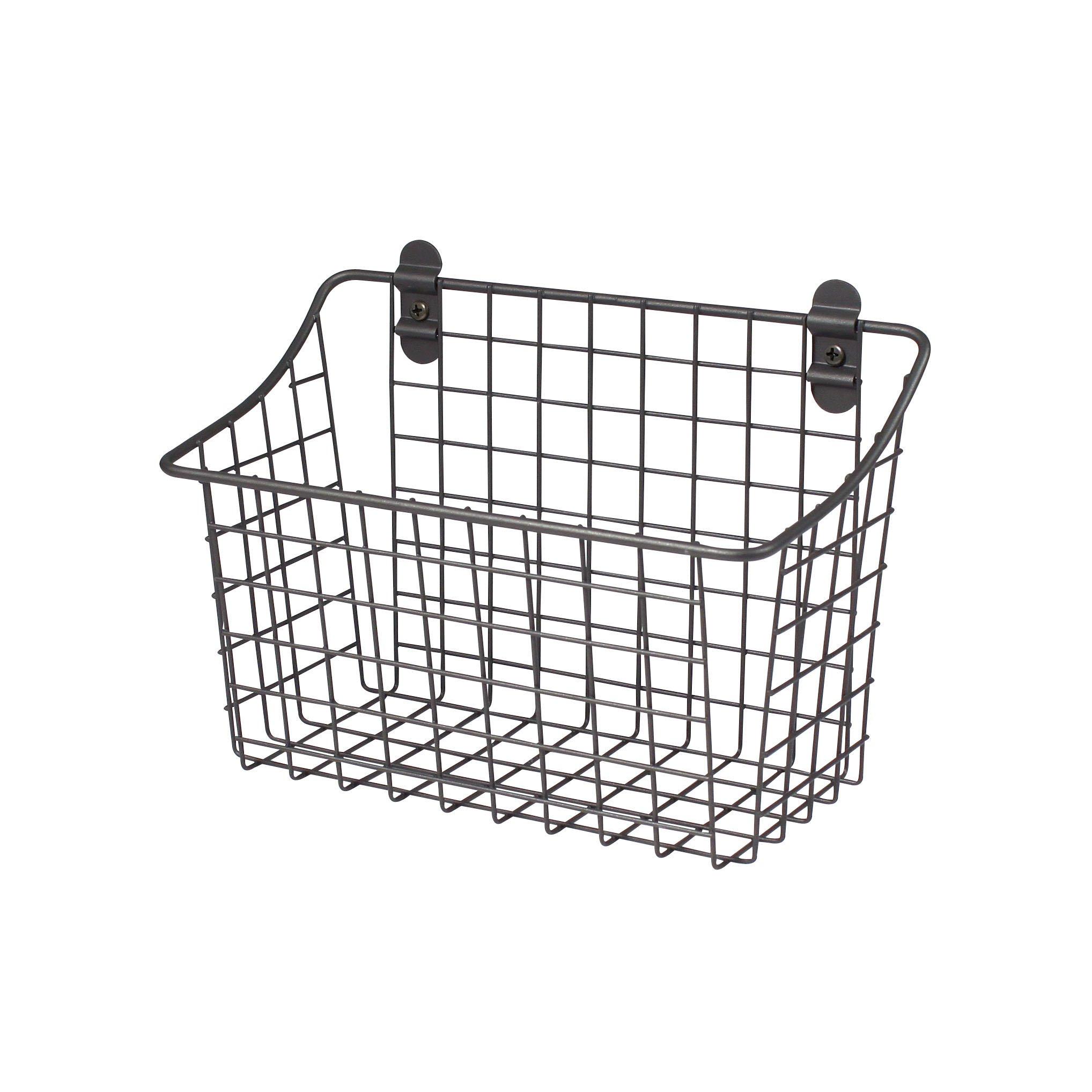 Wire Basket Wall Mount Mounted Waste Hanging Metal Cabinet Under