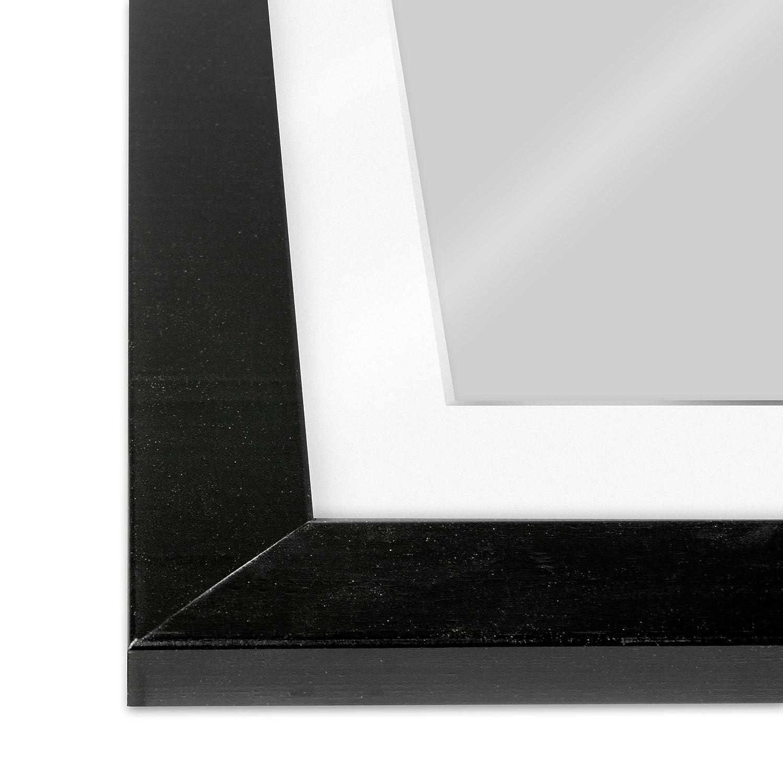 Amazon.de: GMGold Bilderrahmen, 12x10 for image 10x8, Black frame ...