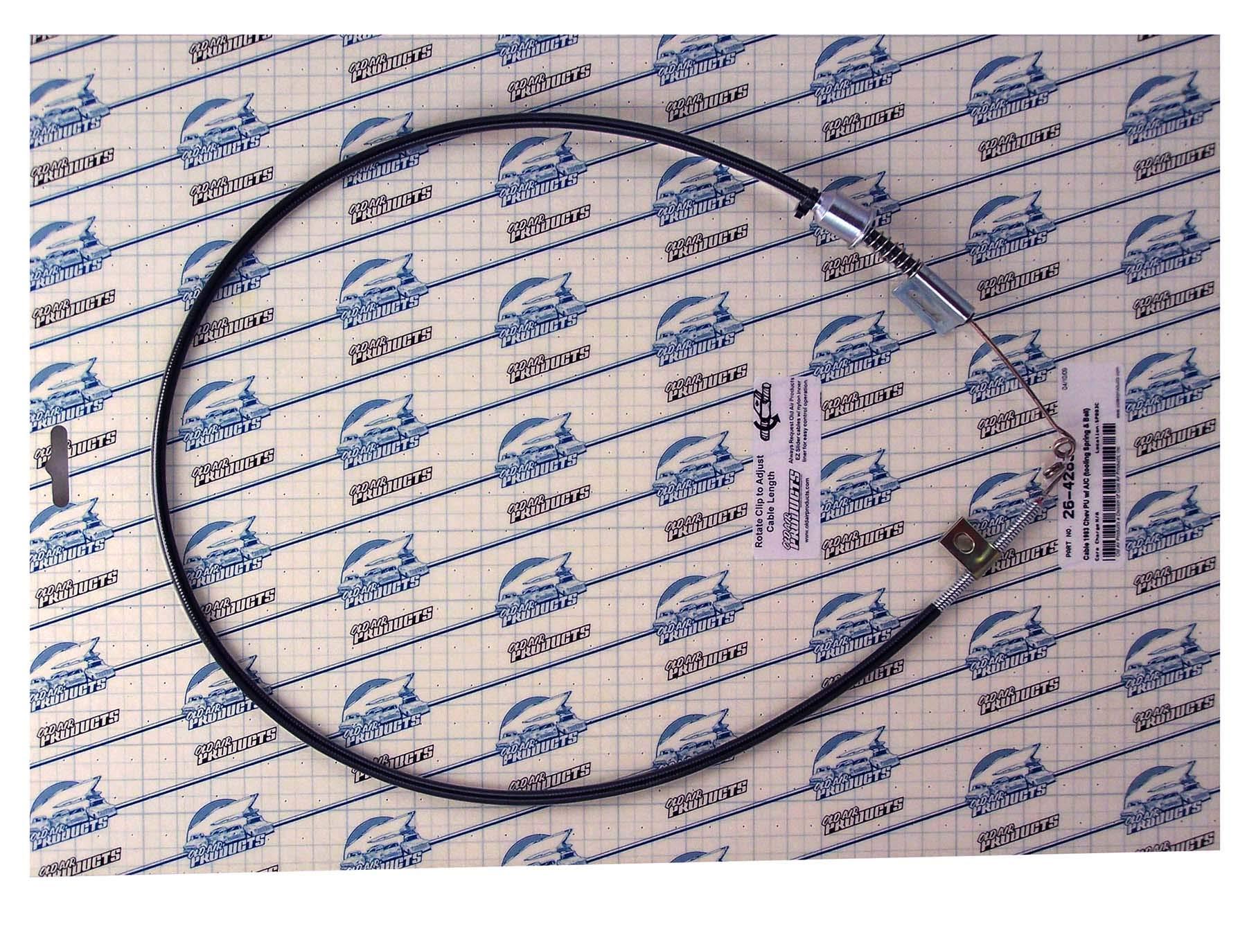EZ Slider 1pc Cable Set, 1973-83.5 Suburban & Blazer #26-4283