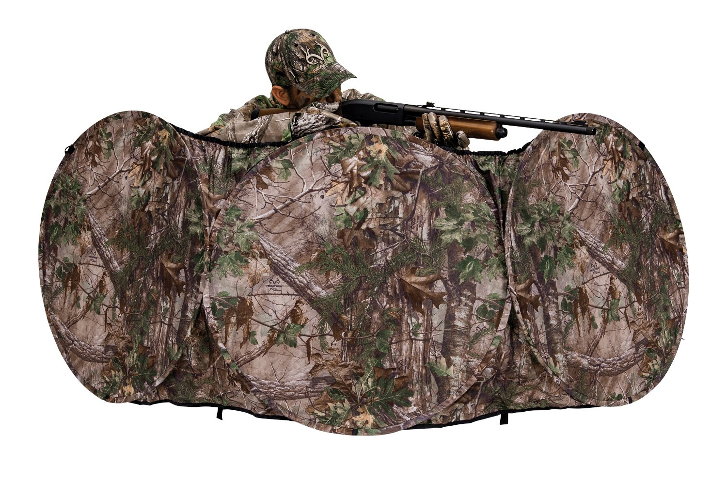 amazon com blind sports outdoors dp ameristep ground tent chair hunting blinds realtree
