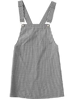 582ea786bde Amazon.com  MAKEMECHIC Women s Bid Strap Pocket Dungaree Mini ...